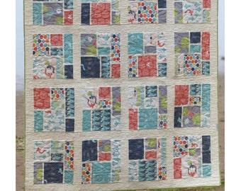 Tatami Mat Quilt Pattern - PDF