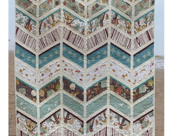 Happy Trails Quilt Pattern - Paper Pattern