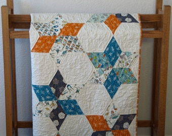 Star System Quilt Pattern - Paper Pattern