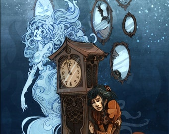 Time's Ghost 8x10 art print