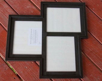 Collage Picture Frame Multi 3 Opening 8x10 Distressed Etsy