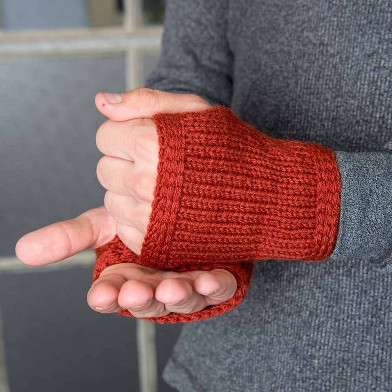 Mens Arm Warmers Redwood Mens Gloves Mens Fashion Accessories image 0
