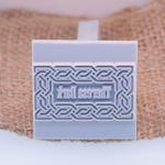 "38x38mm / 1 1/2"" Custom Signature Stamp For PMC, Art Clay, Metal Clays & Polymer"