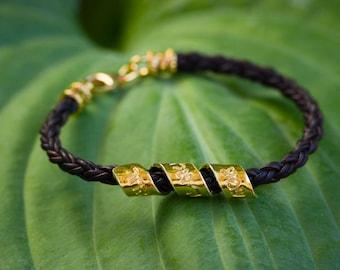 Shema Israel Bracelet Gold