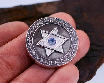 Traveler's Prayer Coin For Safe Travel