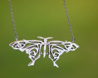 Mamma Mia Inspired - Sterling Silver Butterfly Necklace