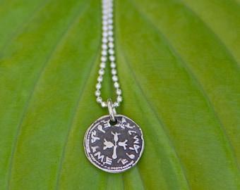 Ancient Coin Silver Charm