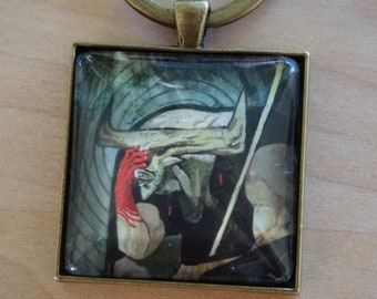 The Iron Bull - DragonAge Inquisition - Glass Keychain
