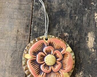 Rosette Ornament - Vintage Charm