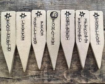 Misc. Garden Marker- Ready to Ship-  As seen on HGTV's 15 Fresh Handmade Gift Ideas