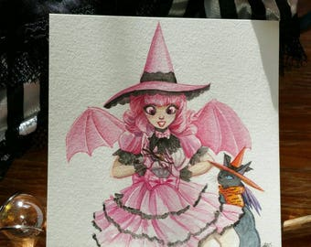 Jenny Estivales and Bitaen, Lolita Witch Witchtober 9