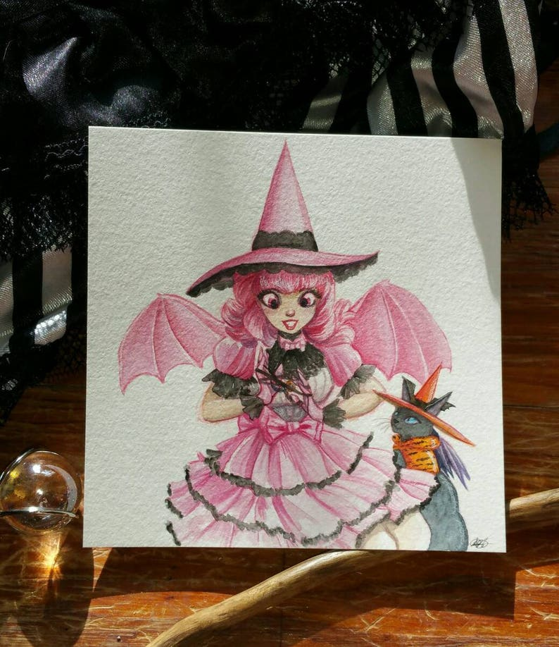 Jenny Estivales and Bitaen Lolita Witch Witchtober 9 image 0