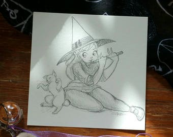 Music Witch Witchtober 18