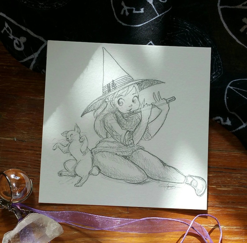 Music Witch Witchtober 18 image 0