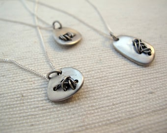 stitches necklace