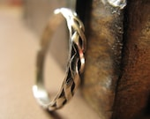 Braided Ring in Sterling Silver