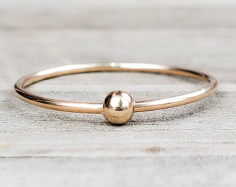 Anxiety Ring 14k Gold Filled Spinner Ring