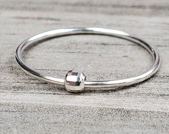 Disco Ball Ring Anxiety Spinner Ring