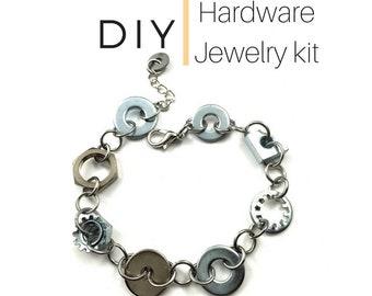 Jewelry Kit Bracelet Mixed Hardware