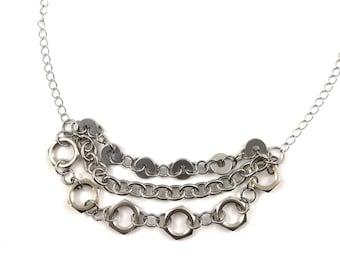 Chain Necklace Choker Hardware Jewelry