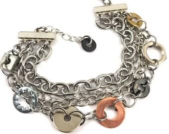 Chain Bracelet Hardware Jewelry