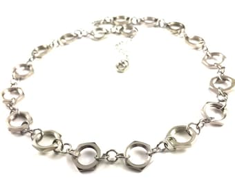 Chain Necklace Link Hardware Jewelry