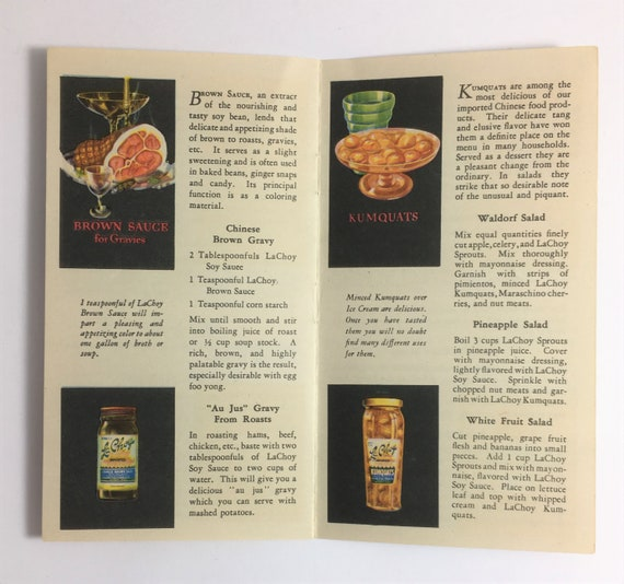 Vintage 1931 THRIFTY JELL-O RECIPES TO BRIGHTEN YOUR MENUS ~ Art Deco Graphics