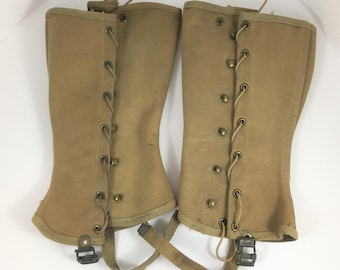 Pair of WW2 Military Spats