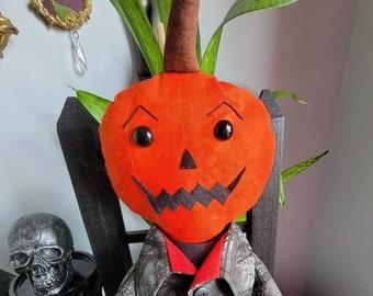 Pumpkin head Rag Doll