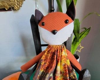 Autumn Fox Doll