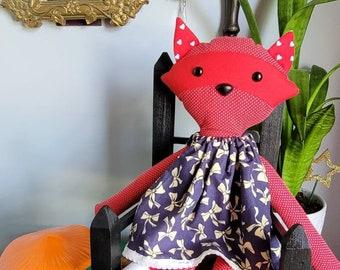 Ruby Raccoon Doll