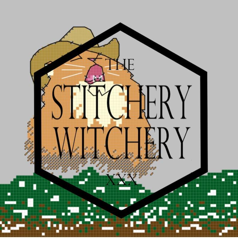 PDF Country Roads Singing Cat Meme Download Cross-Stitch ...
