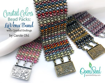 LaVena Band Curated Colors Bead Packs by Carole Ohl