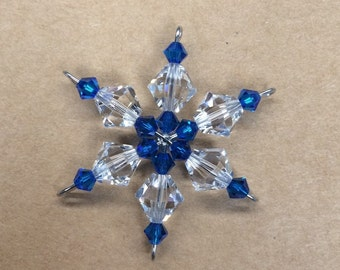 Mini Swarovski Snowflake Ornament