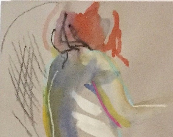 Nude painting #1653  Original painting by Gretchen Kelly