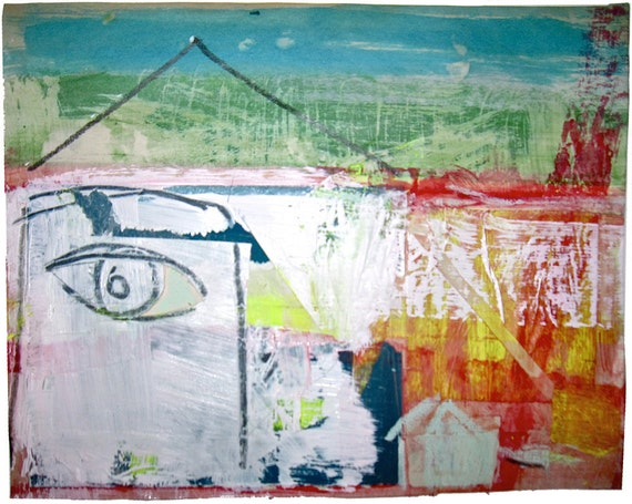 Collage 5- m' eye House- by Gretchen Kelly