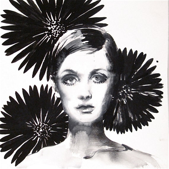 Twiggy 3 by Gretchen Kelly
