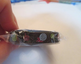 5 Yards Black Candy Grosgrain Ribbon Sewing Supplies