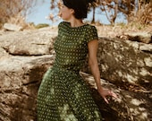 Birdsong Gathered Skirt in Dappled Light