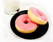 Big Pink Donut - Goat's Milk Soap Bar