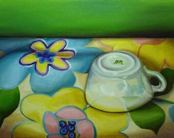 Spring Flowers - original oil painting