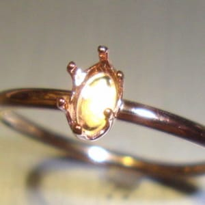 1x Rose Gold Plated Adjustable Square Wire Ring Findings K504-D