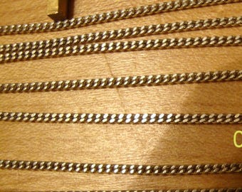 Curb chain bracelets - solid .925 sterling silver - one bracelet - about 7 to 8 inches long - your choice -