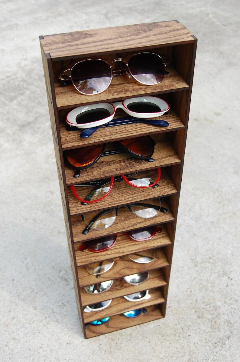 5c89fff2a5c 10ct Sunglasses Organizer Rack Sunglasses Display Storage