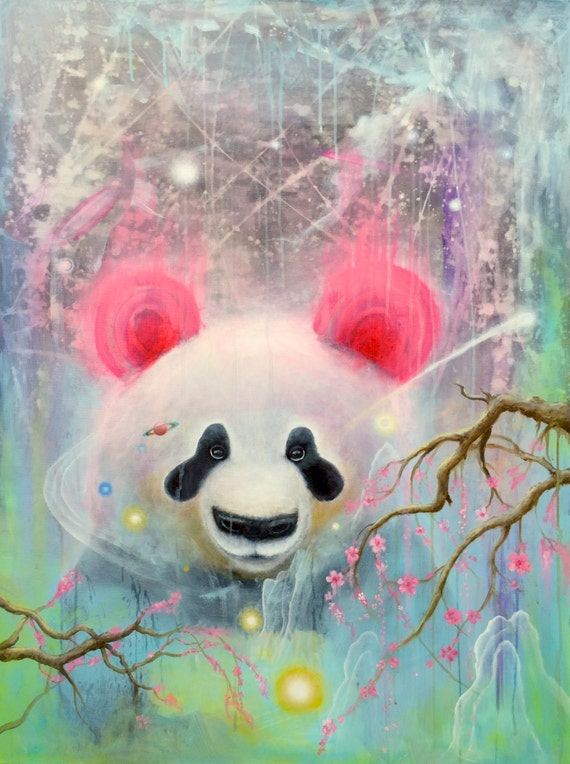 Baby Panda 8.5 x 11 Prints Collectable Art Work