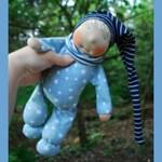 Schnittmuster Schlenkerbein-Puppe für Fortgeschrittene von Immertreu