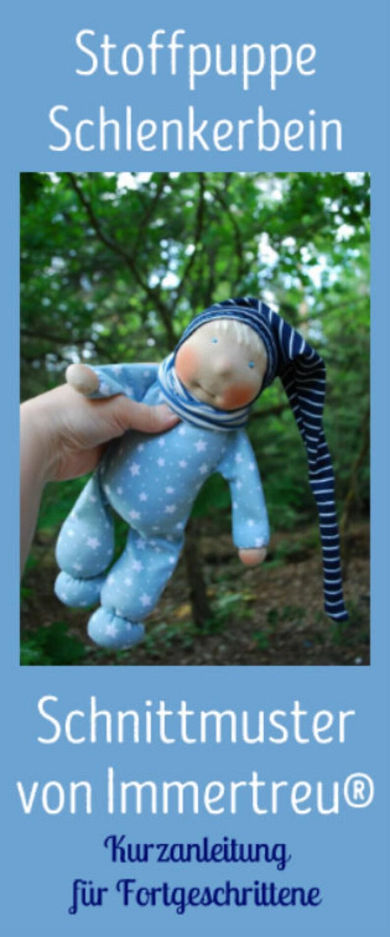 Schnittmuster Schlenkerbein-Puppe für Fortgeschrittene von image 0