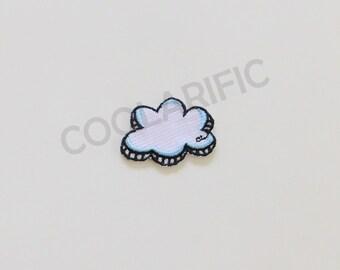 Fluffy Cloud Sticker Patch