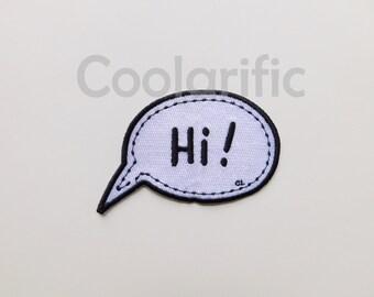 Hi! Sticker Patch