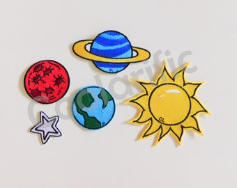 Solar system Sticker Patch (Sold Individually)